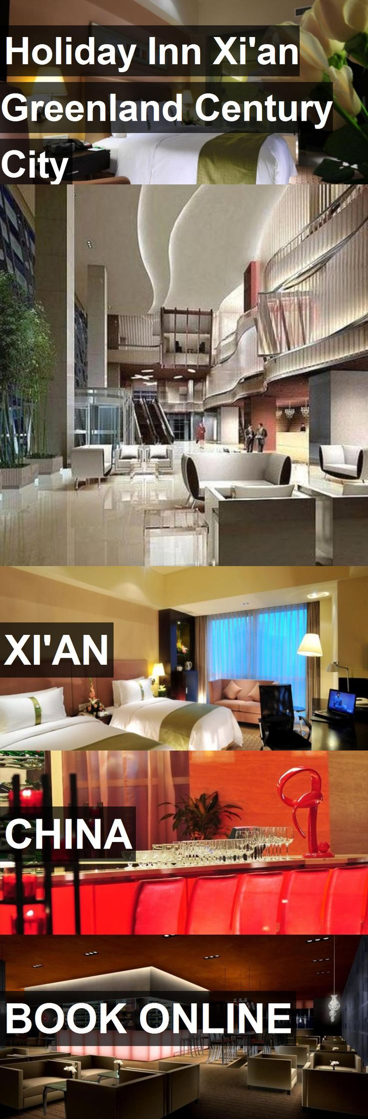 Hotel Holiday Inn Xi'an Greenland Century City in Xi'an, China. For more information, photos, reviews and best prices please follow the link. #China #Xi'an #travel #vacation #hotel