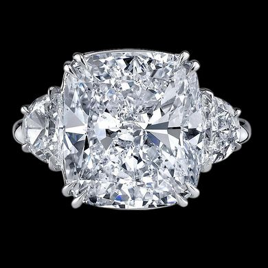 Cushion Cut Diamond Ring $207,000 #rings  - This could be my most expensive pin yet!