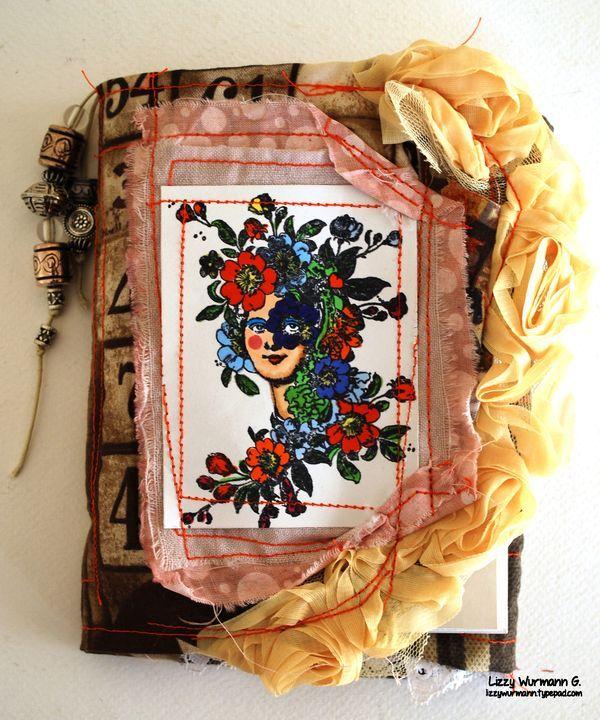 Fabric Journal by Lizzy Wurmann G.