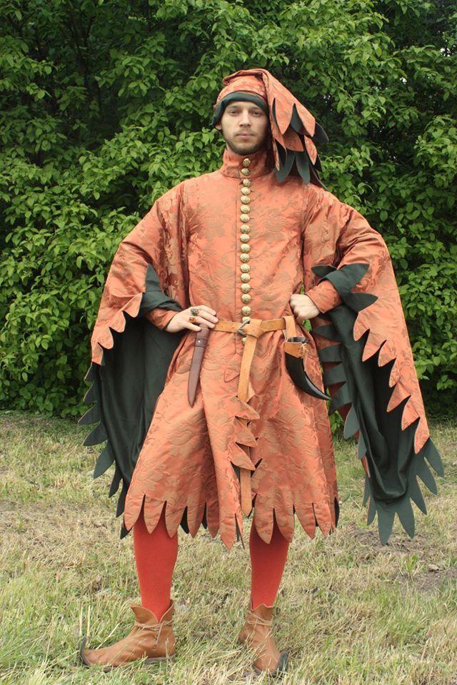 Средневековый мужской костюм картинки