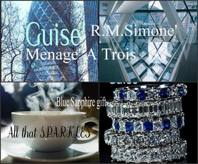 """From author R.M.Simone. """"GUISE"""" trilogy."""