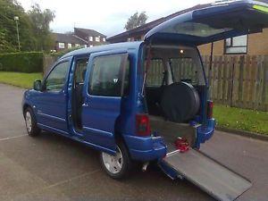 Citroen-Berlingo-Multispace-Forte-Wheelchair-Access-Vehicle-Mobility-Conversion