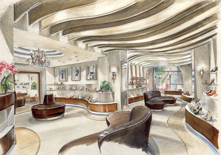 Raumkonzepte peter buchberger project buffalo stores for Interior designer hamburg