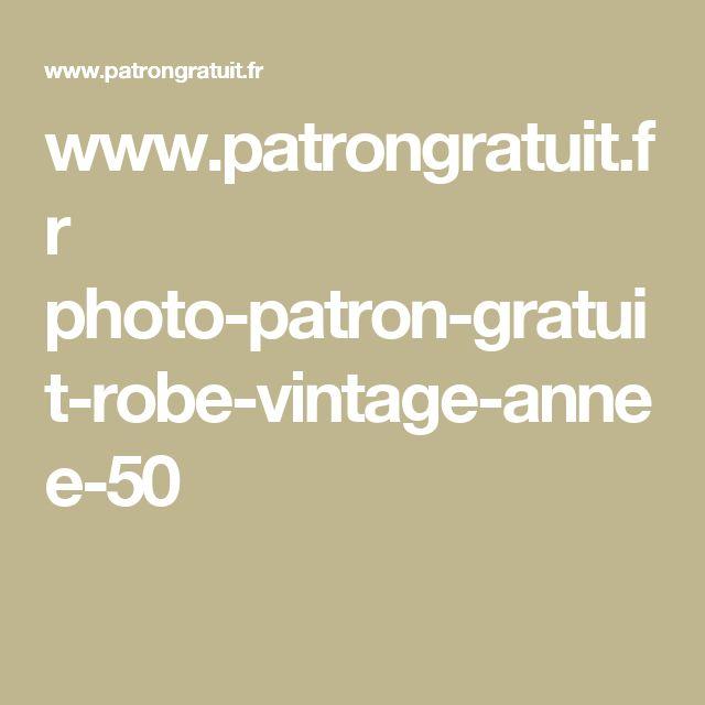 www.patrongratuit.fr photo-patron-gratuit-robe-vintage-annee-50