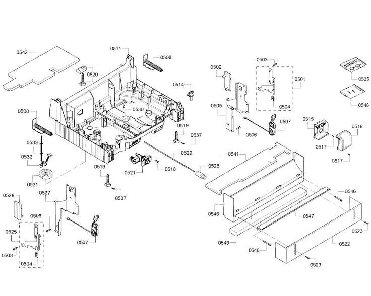 BOSCH DISHWASHER Parts | Model shx55r55uc64 | Sears PartsDirect