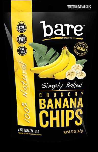 Hanging Off The Wire: Bare Snacks Now Has Banana Chips