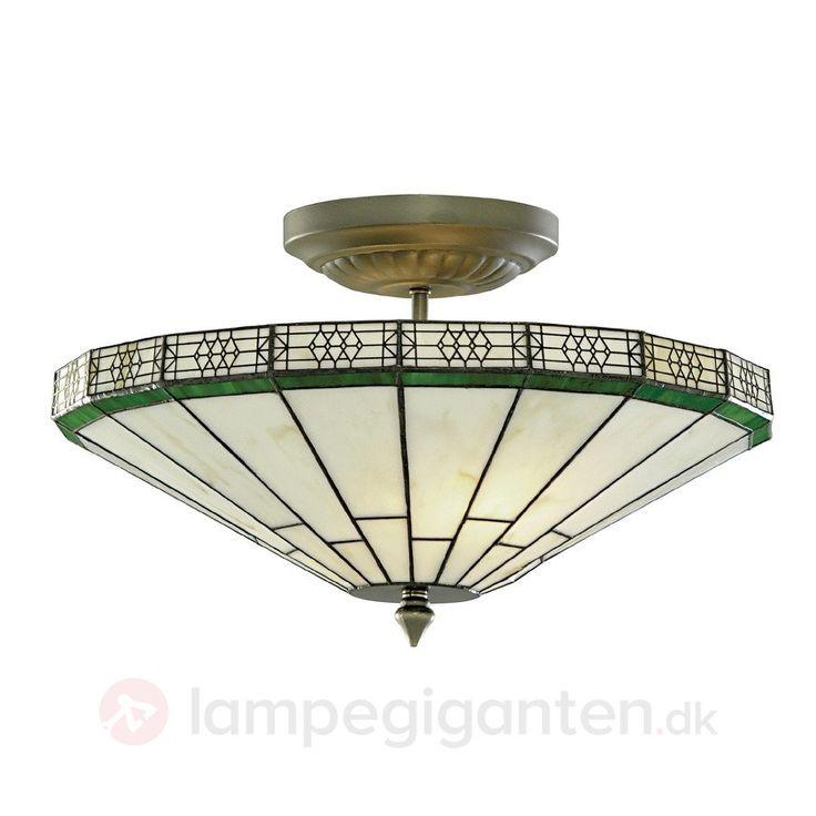 NEW YORK – klassisk loftlampe, Tiffany-stil sikker og bekvem online bestilling hos Lampegiganten.dk.