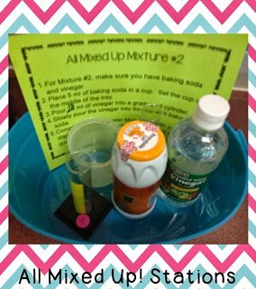 Science Penguin's Science Plans {week 6: ending mixtures and staring forces} Mixtures and Solutions