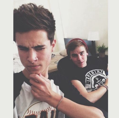 Kian and Connor