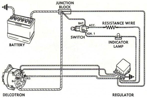 Alternator Connections Diagram Car Alternator Alternator Automotive Electrical