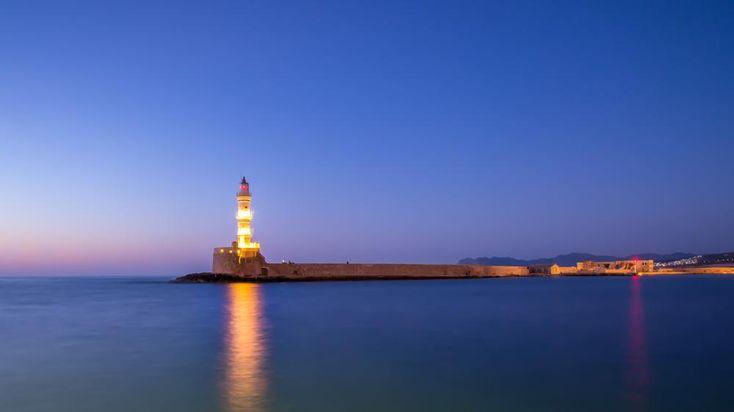 Chania Lighthouse by www.gronlundsperspektiv.se