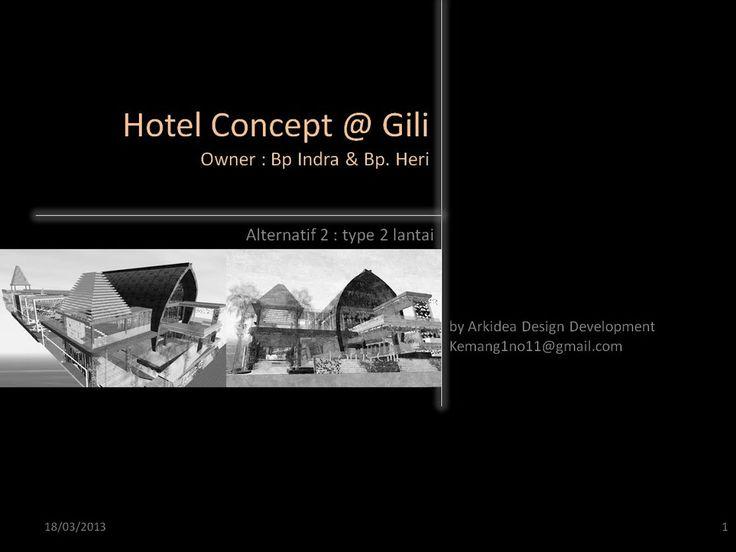 Hotel Concept @ Gili alt 2 lt