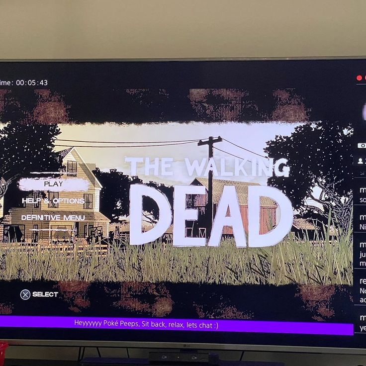 Anyone keen to come chat and chat and watch some zombies