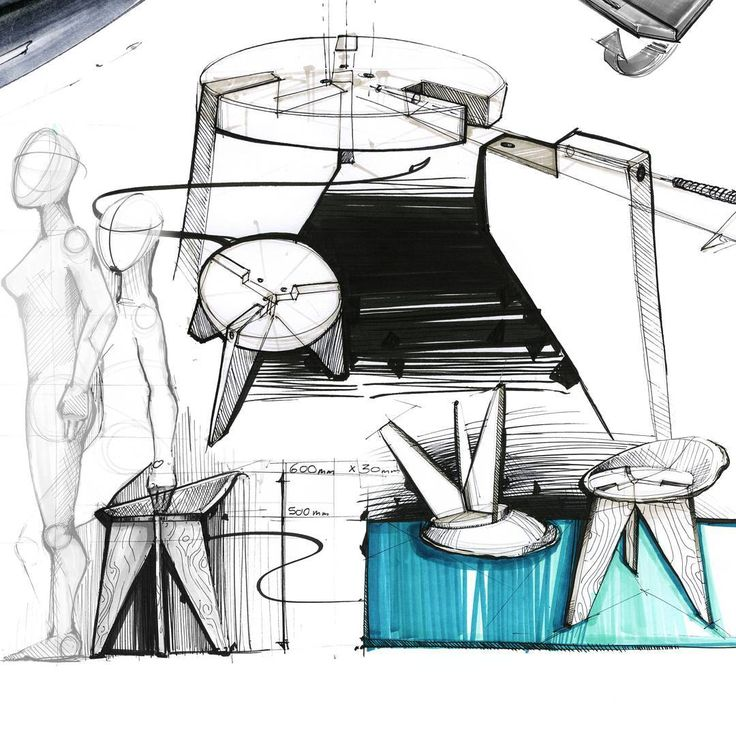 Pieces from the sketch portfolio   ____________________________________  #industrialdesign #idsketching #sketch #drawing #ideation #conceptsketch #ergonomics #anthtopometrics #furniture #semantics #conceptdevelopment #productdesign #sketchpage #layout #copicmarkers #kettle #design #explodedview #assembly #wood #stool #product