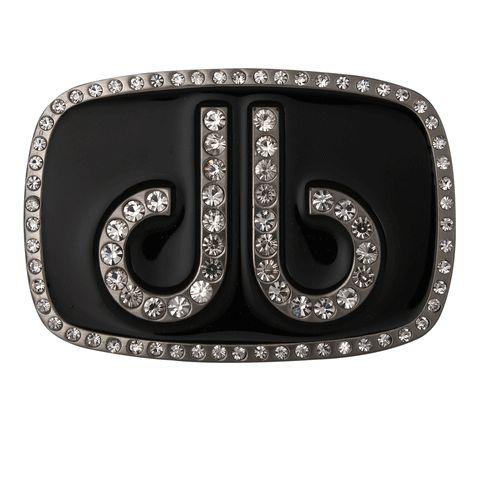 DB Diamond Black Buckle by Druh Belts.  Buy it @ ReadyGolf.com