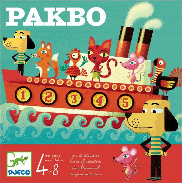 Tactisch denkspel Pakbo Djeco 4-8j #Game by #Djeco from www.kidsdinge.com    www.facebook.com/pages/kidsdingecom-Origineel-speelgoed-hebbedingen-voor-hippe-kids/160122710686387?sk=wall     http://instagram.com/kidsdinge #Toys #Speelgoed