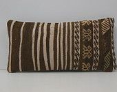 10 x 20 designer pillow shop DECOLIC oriental rugs nyc large sofa throws modern pillows home interior brown cream 14059 kilim pillow 25 x 50