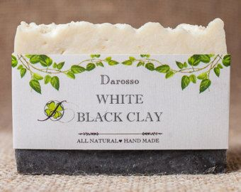 Lemongrass Soap, All Natural Soap, Handmade Soap, Detox Soap, Vegan, Gift for him, Gift for her, Luxury Soap, Organic Soap  Lemongrass Soap, handmade all natural body wash soap bar with cleansing aged volcanic ash, known as bentonite clay along with organic essential oils such as antiseptic lemongrass and antibacterial, making this bar of soap excellent for oily skin. Lemongrass is an herb that belongs to the grass family of Poaceae. Lemongrass oil has a light and fresh lemony smell with…