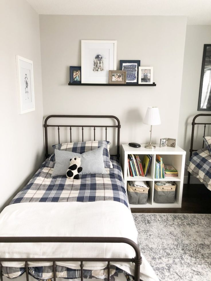 This Farmhouse Style Metal Bed Works Perfect For A Kids Bedroom