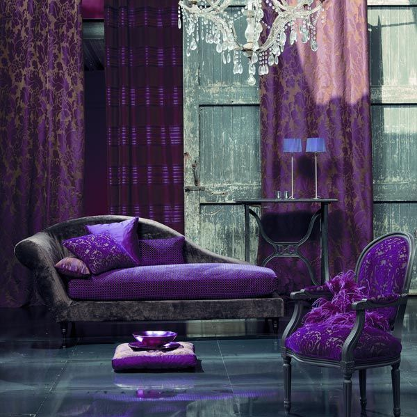 Purple Living Room Purple Pinterest Furniture Decor Room And The Purple