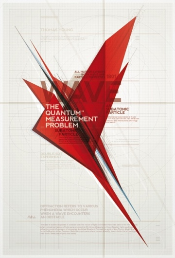 quantum - really dig this poster design