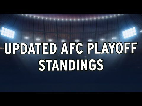 NFL Standings After 'Monday Night Football' — Who Would Go To The Playoffs If The Season Ended Today?