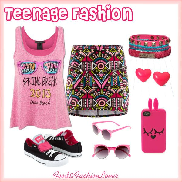 """teenage fashion"" by homeyyomey on Polyvore"