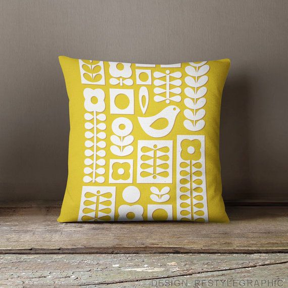 Scandinavian pillow covers Throw pillows covers by ReStyleGraphic