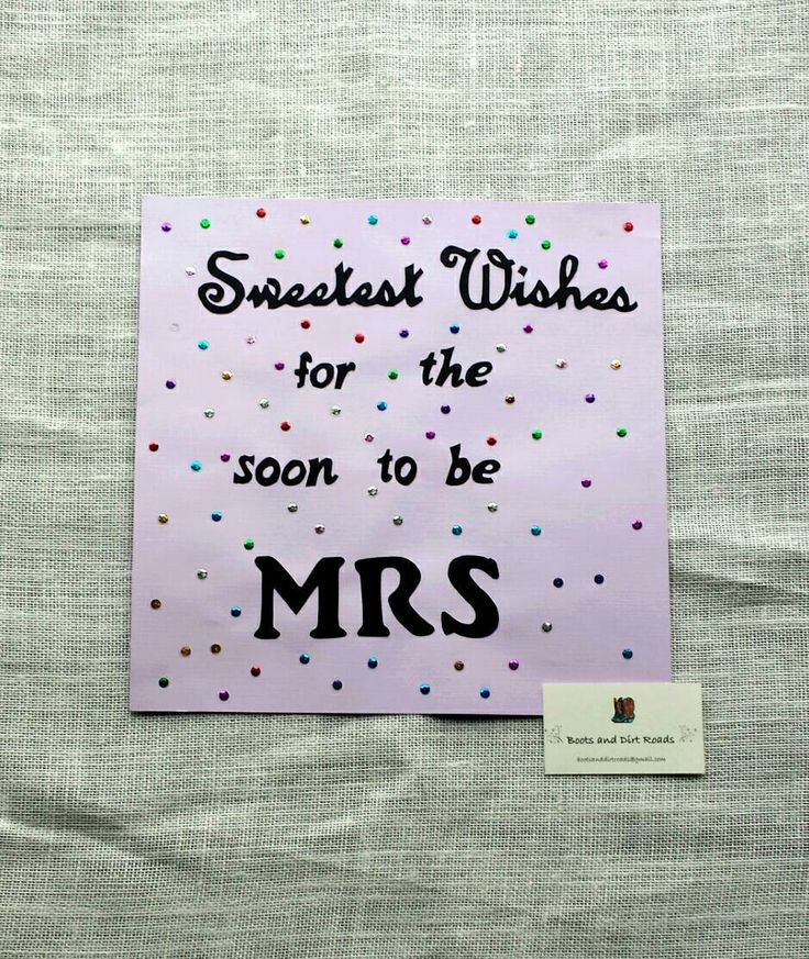 Sweetest Wishes Sign, Bridal Shower Sign, Bridal Shower, Paper Sign, Sweetest Wishes, Bride, Wedding Shower, Soon to be Mrs, Bridal Decor by BootsAndDirtRoads on Etsy