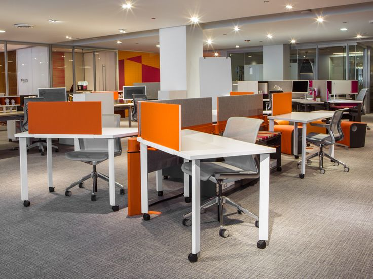 orange office furniture. choose how you work at further office furniture systems clarity chair orange m