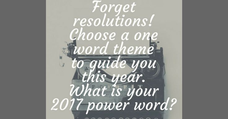 Do you make New Year's Resolutions?     They say New Year's Resolutions often times do not last past January. These lofty visions we set ou...