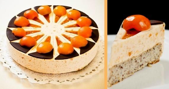 Az ország tortája 2011, Kecskeméti barackos kölestorta - The Cake of Hungary 2011, Kecskeméti peach-millet cake.