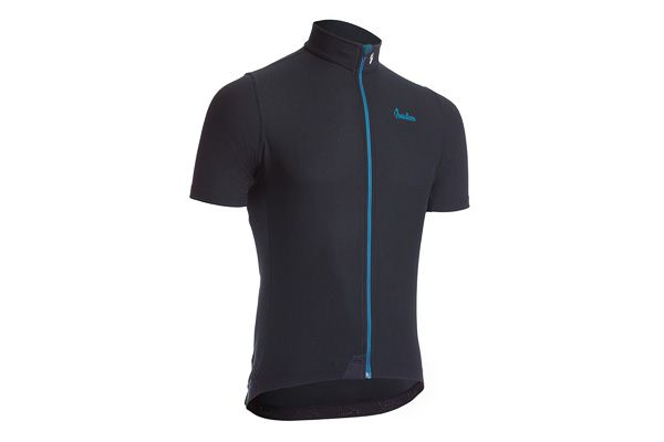 Isadore - Woolight Jersey Jet Black Men - Hot summer riding cycling jersey #cyclingmemories