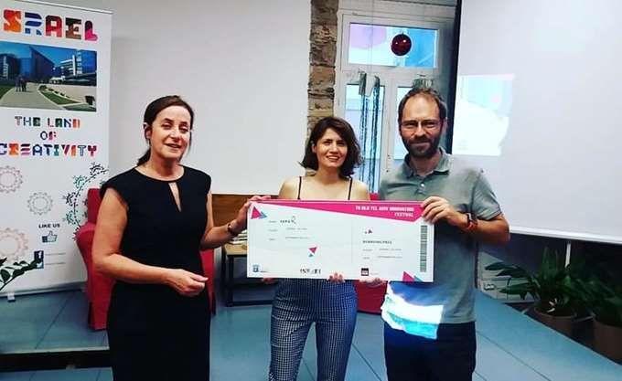 H 3asyR νικήτρια του διαγωνισμού  Start TelAviv 2017