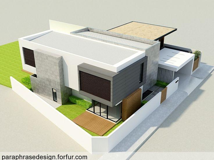 แบบบ้าน TU House/ Exterior