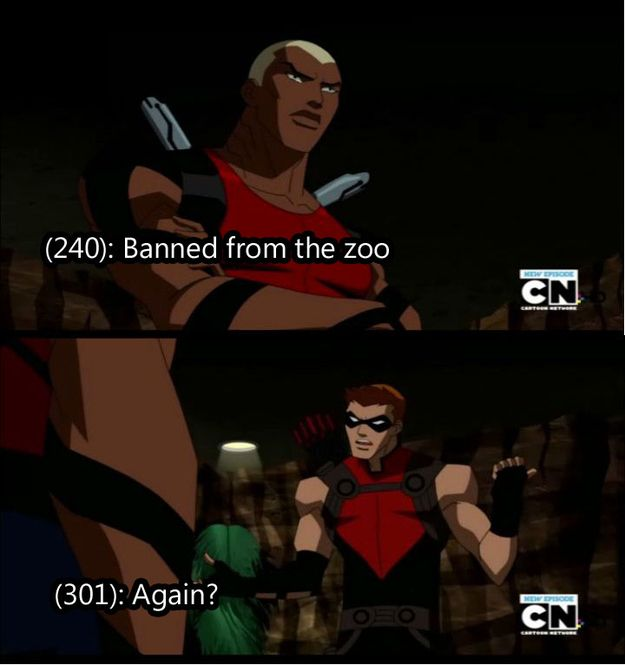 15 Drunk Texts The Young Justice League Probably Sent>>> it's possible. :)
