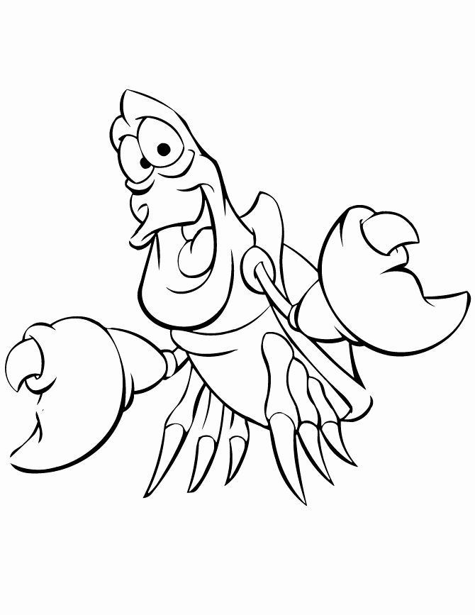 Little Mermaid Coloring Book Best Of Little Mermaid Coloring Pages Sebastian The Crab Little Mermaid Drawings Mermaid Coloring Pages Mermaid Sketch