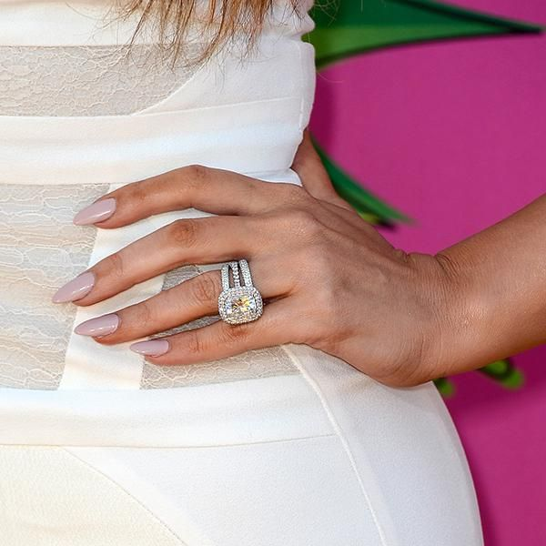 Top celebrity engagement rings