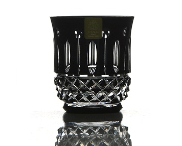 STRAUSS CRISTAL GLASS FOR COCKTAIL 175ML BLACK