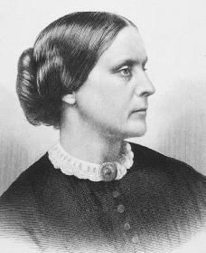 Susan Anthony campaigned against slavery and for the promotion of women's and workers rights. She began campaigning within the temperance movement and this convinced her of the necessity for women to have the vote. She toured the US giving countless speeches on the subjects of human rights.