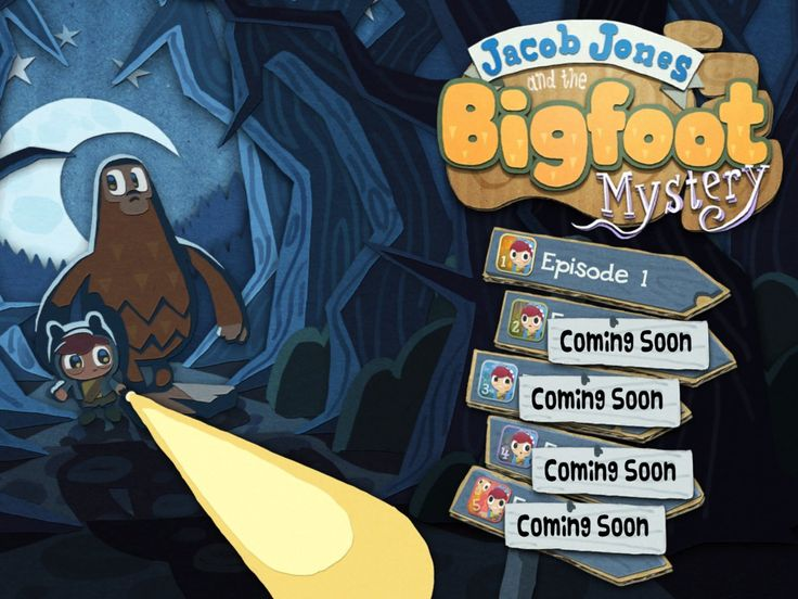 Play Peep : Jacob Jones & the Bigfoot Mystery, iPad