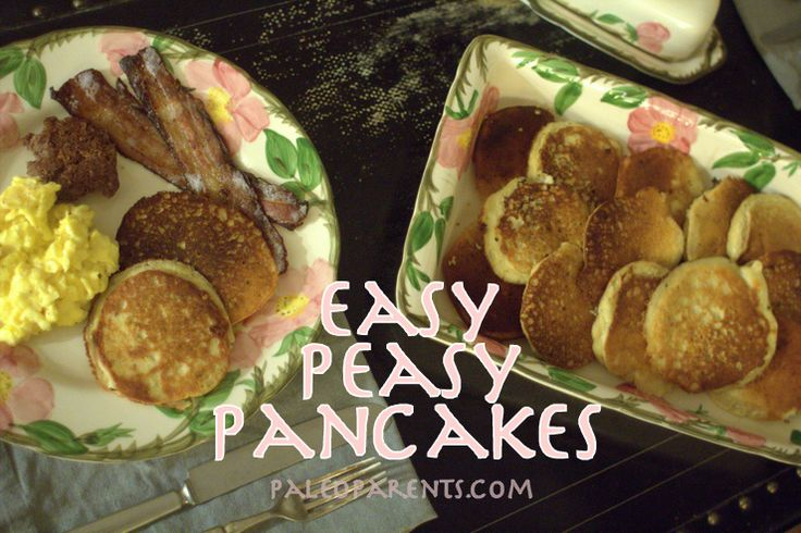 Easy Peasy Banana Pancakes by @PaleoParents