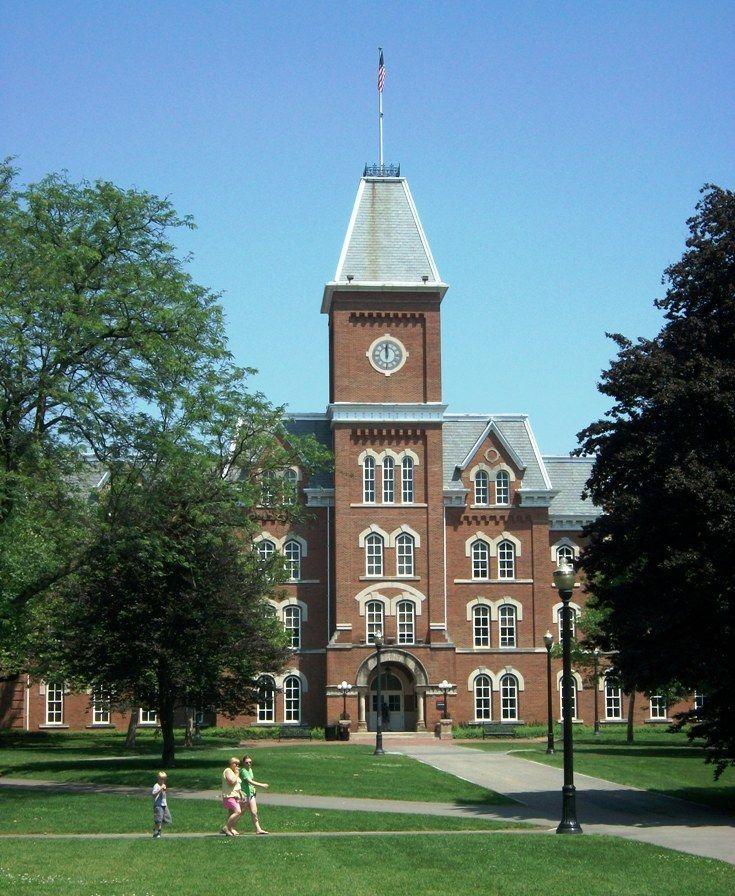 OSU - The Ohio State University - Explore Campus in this Photo Tour: The Ohio State University - University Hall
