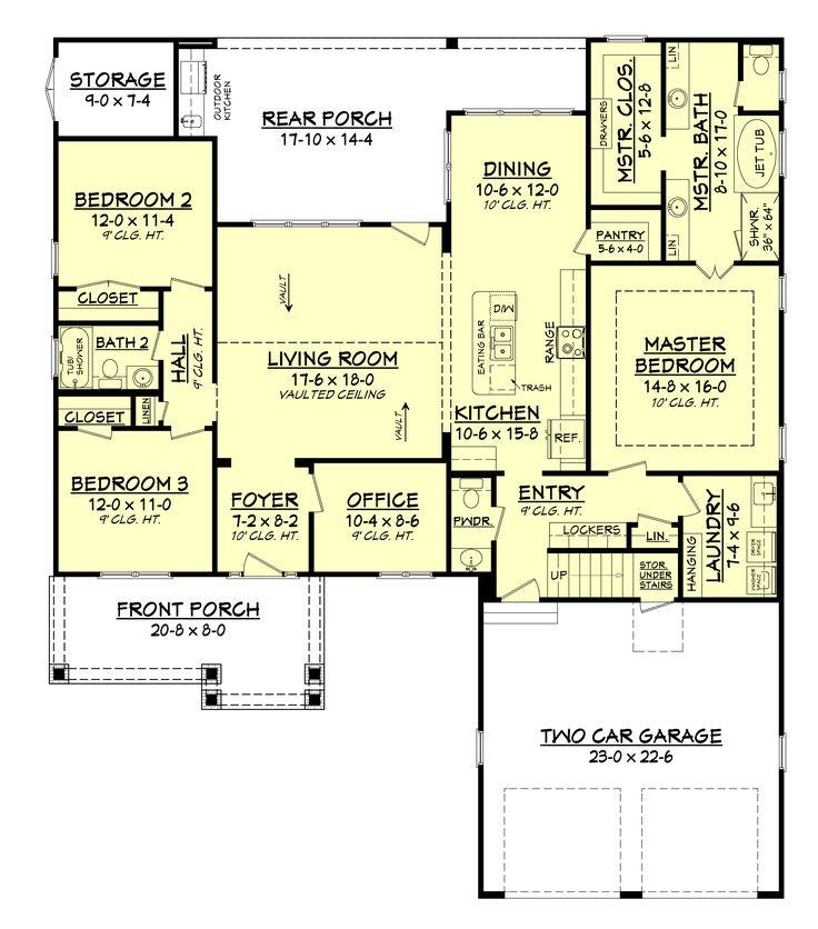 589 best Dream Home images on Pinterest House floor plans Floor