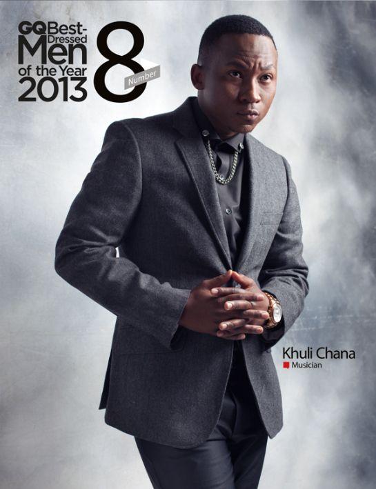 GQ's best dressed men 2013 - No 8 Khuli Chana