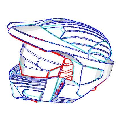 papercraft halo armor!
