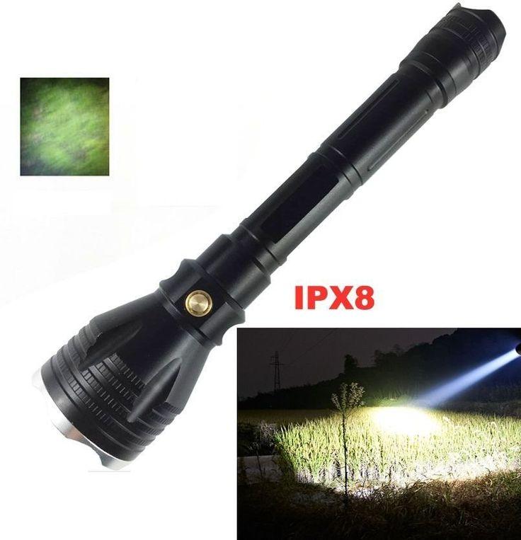 Lanterna mergulho profissional  LED CREE XM-L2 Forte