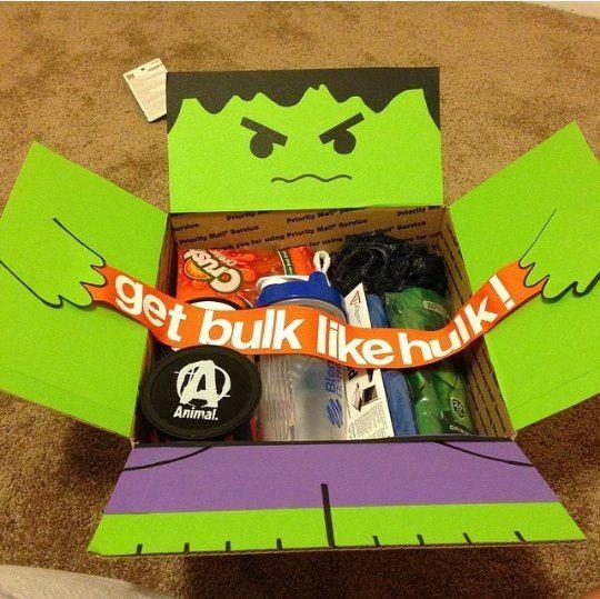 Halloween carepackage