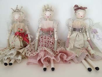 Beautiful Handmade Fairy Dolls ~ exclusively available from www.bettyandviolet.com