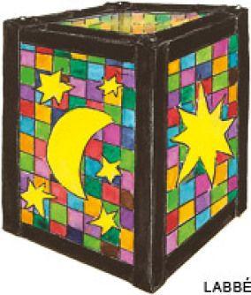 Für ambitionierte Bastler: diese Mosaik Laterne